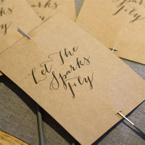 Printable: Let The Sparks Fly Sparkler Tags (personalised