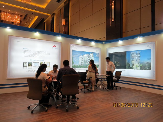 www.nandanbuildcon.com - Visit Times Property Showcase 2013, 1st &2nd June 2013, JW Marriott, S B Road, Pune