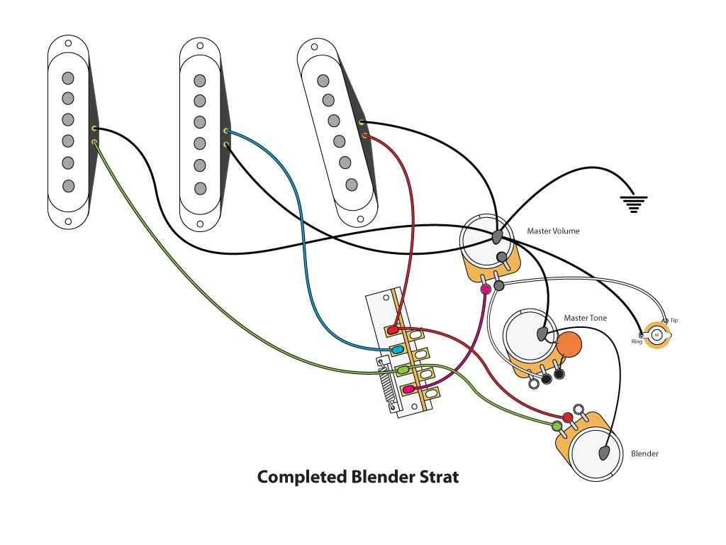 Strat Wiring Layout
