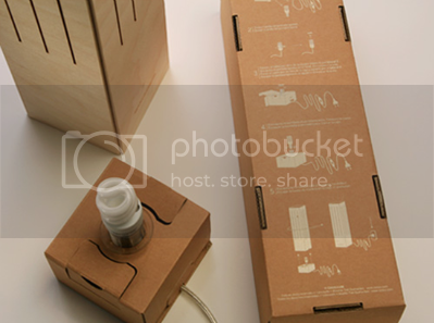 the light source base of Wine-Box-Lamp
