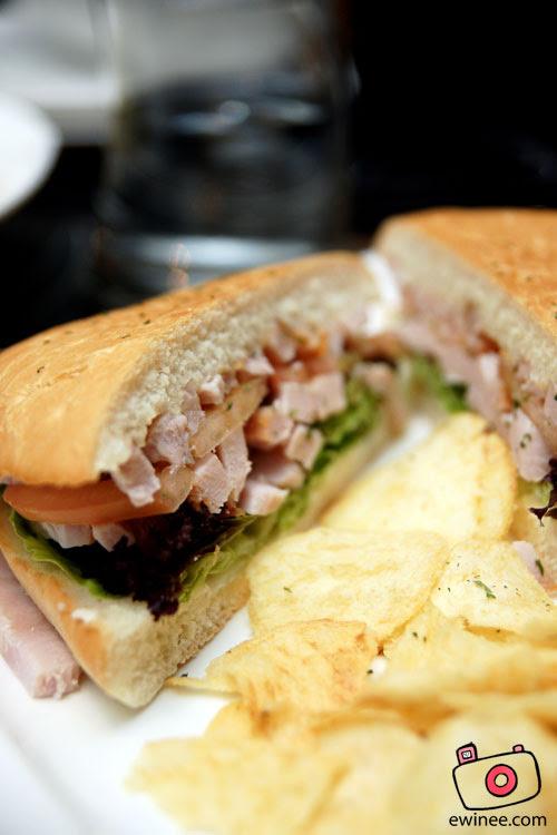 d'ITALIANE-ITALIAN-RESTAURANT-SUNWAY-GIZA-Smoked-turkey-sandwich