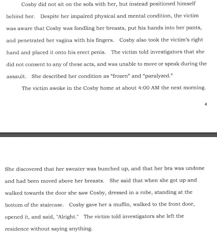 Bill Cosby affidavit