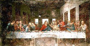 In the seventies Leonardo da Vinci's Last Supp...