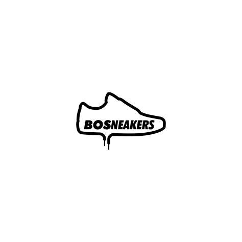 sribu desain logo desain logo  toko  sneakers