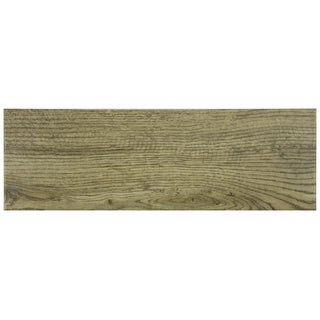 SomerTile Wood Look Sava Oro Porcelain Floor and Wall Tile 6x18-in ...