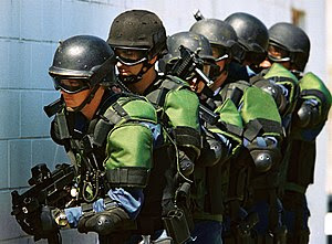 U.S. Customs and Border Protection officers ca...