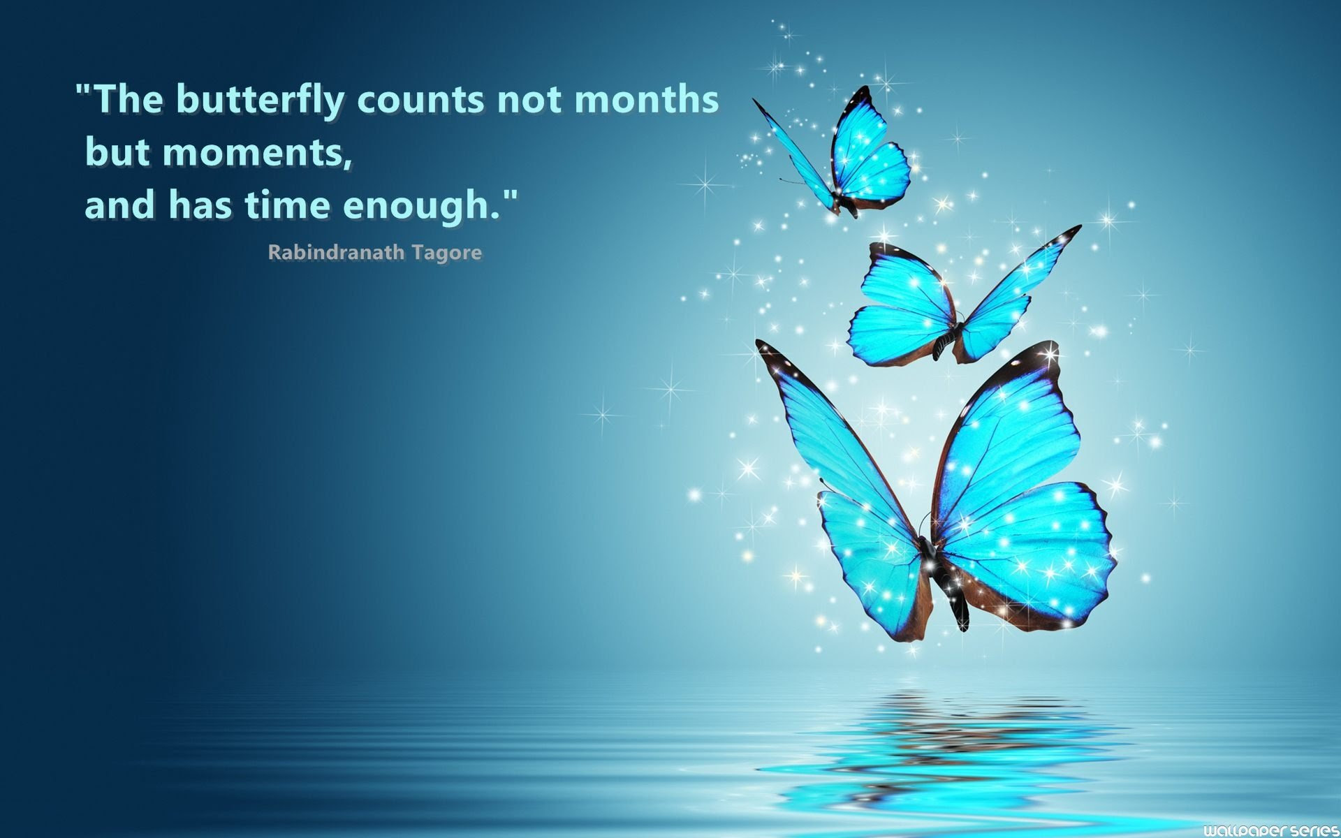 Butterfly Quotes The Butterfly Counts Not Months By Rabindranath