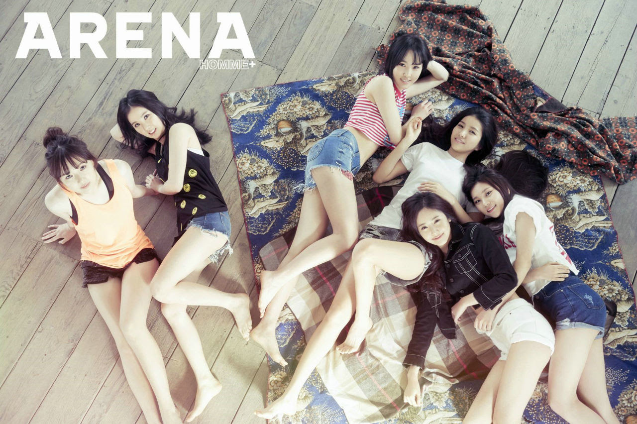 GFRIEND - Arena Homme Plus Magazine June Issue '15