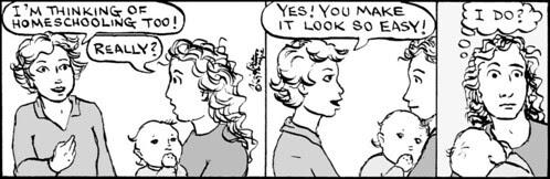 Home Spun comic strip #330