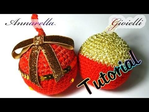 Tutorial Uncinetto Cuore Amigurumi : Annarella Gioielli: Palla di Natale alluncinetto ...