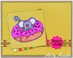 *Sweet* anniversary card