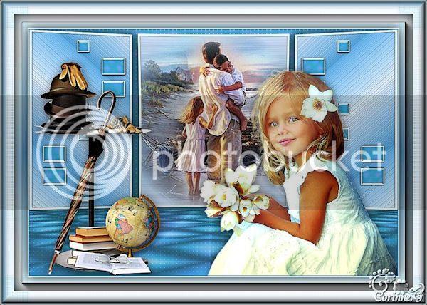 Corinne Galiana- Des fleurs pour papa by Jacotte