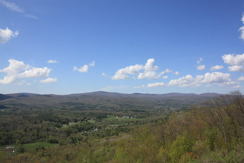 Looking towards the Hoosic Valley