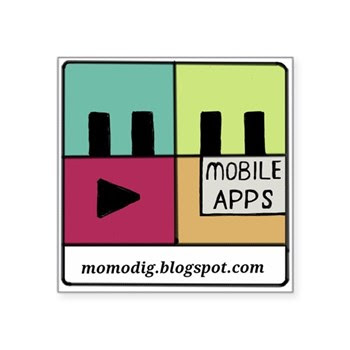 MoMoDig Logo sticker
