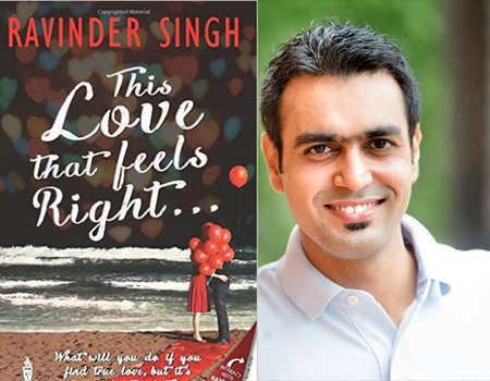 "BOOK REVIEW - ""LOVE THAT FEELS RIGHT BY RAVINDER SINGH"""