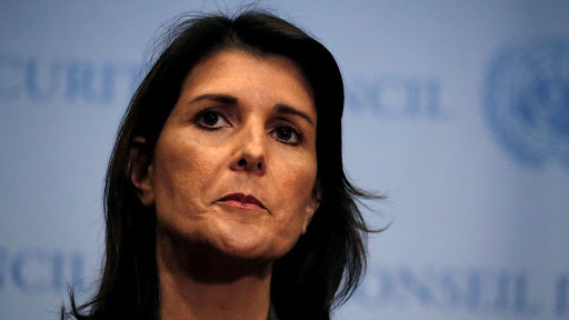 Nikki Haley: Top aides 'told ex-UN envoy to undermine Trump'