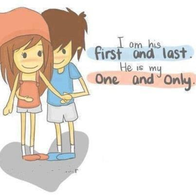I Am His First And Last He Is My One And Only I Love You
