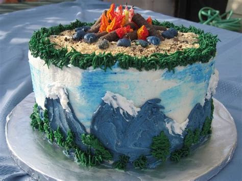 Best 25  Mountain cake ideas on Pinterest   Forest wedding
