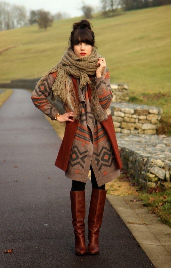 Risultati immagini per cozy autumn look