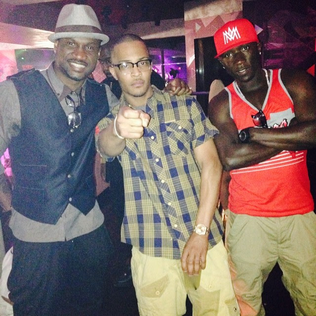 P Square Collaborate with US Rapper, T.I, Shoot Video in Atlanta 1