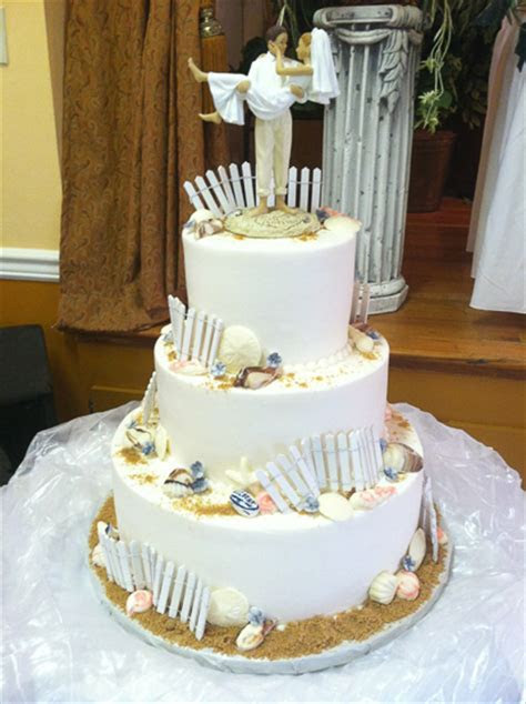 Beach Wedding Cakes   Clearwater, FL  Chantilly Cakes Bakery