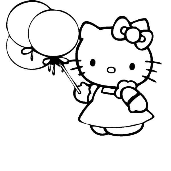Disegni Da Colorare E Stampare Hello Kitty Ballerina Coloradisegni