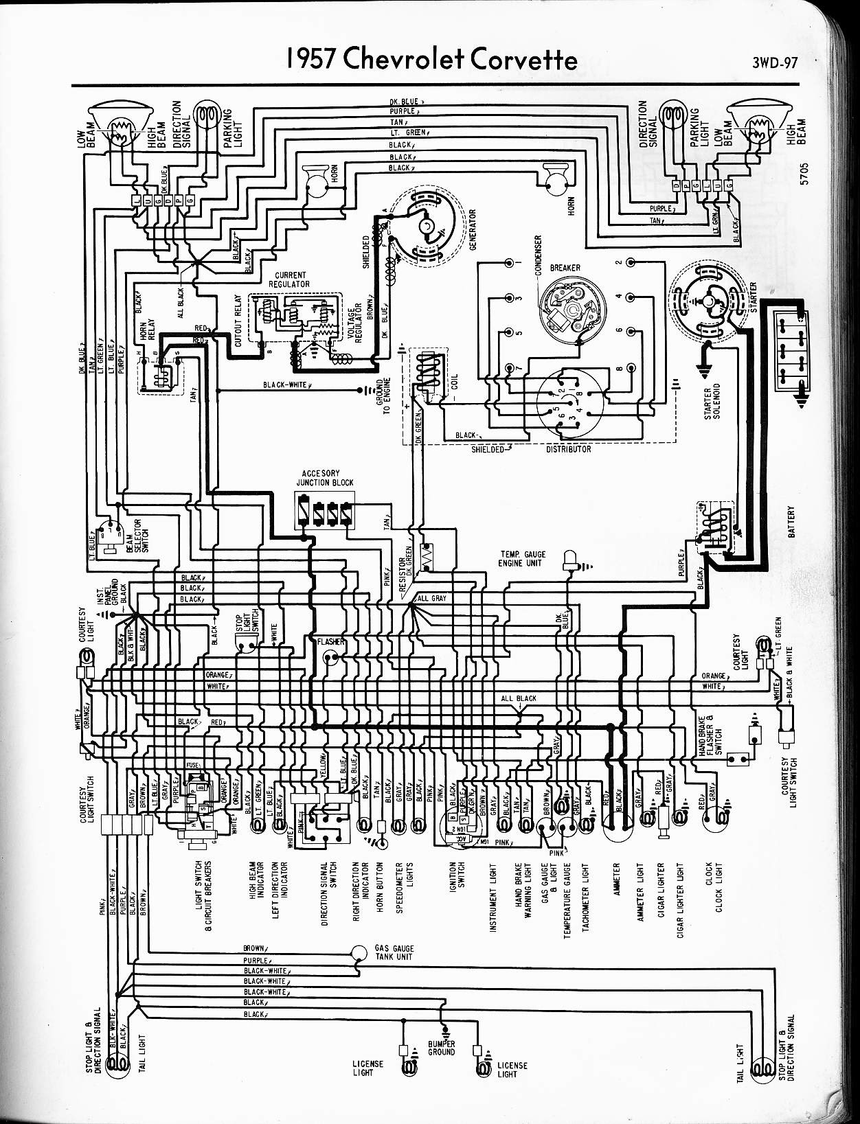 57 Chevy Starter Wiring - Wiring Diagram Networks