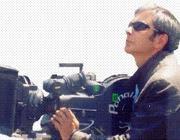 Giulio Gangi alle prese con una macchina da presa: la sua seconda passione