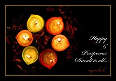 wishing you all a happy & prosperous diwali...