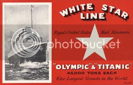White Star Line poster