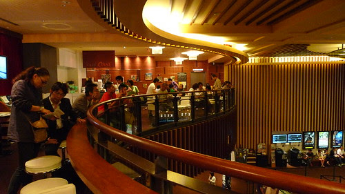 The cafe in Wald 9 cinema