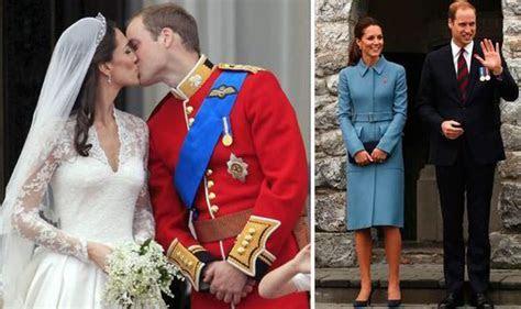 Duke and Duchess of Cambridge enjoy low key third wedding