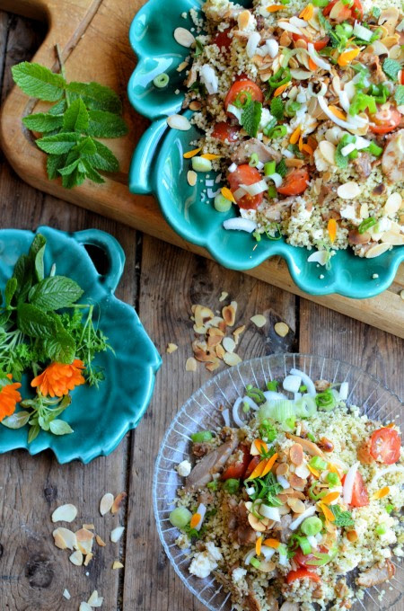 """Arabian Nights"" Tabbouleh Salad Recipe for the NEW App Uniform Foodies"
