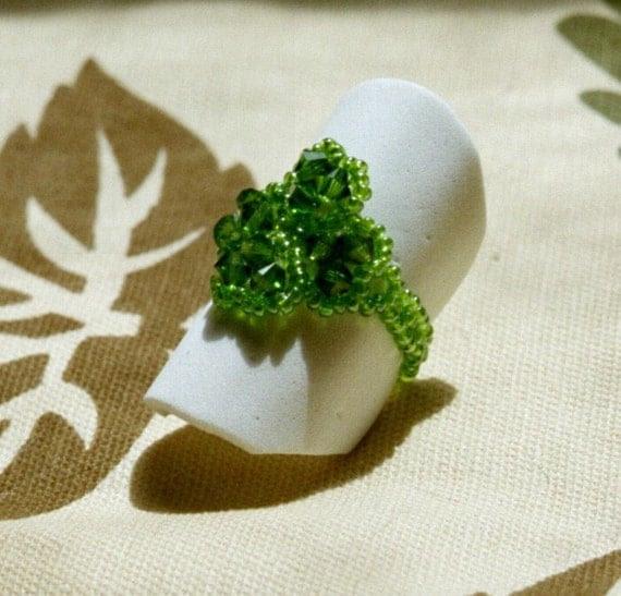 Four Leaf Clover ring