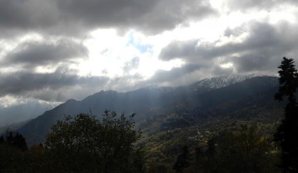 Βροχές ρεκόρ στα σύνορα Ελλάδας με τη Βουλγαρία