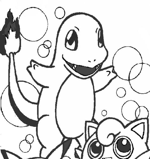 pokemon ausmalbild glumanda  20 besten ideen pokemon