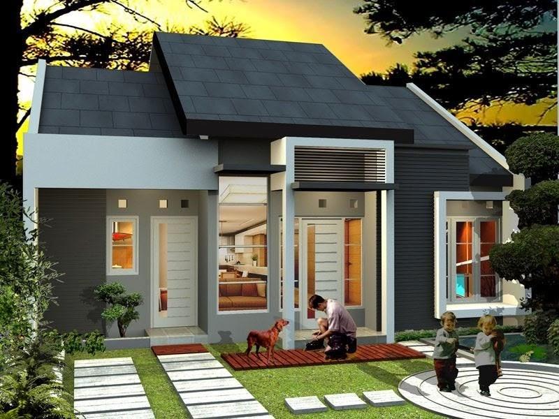 Desain Rumah Type 36 60 Tampak Depan - Desain Dekorasi Rumah