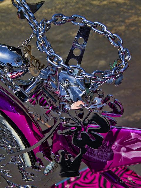 Kid's bike at Downey Street Faire