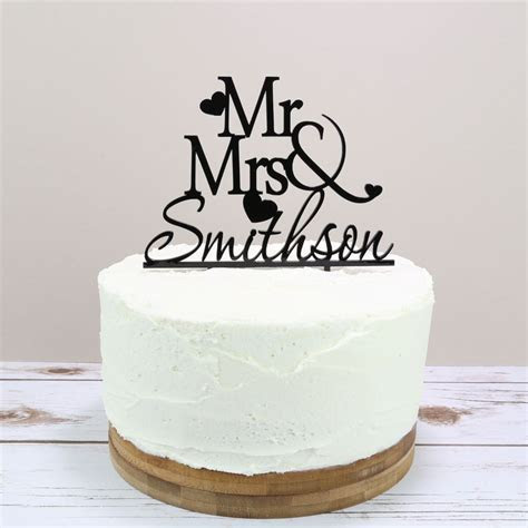 Personalised Wedding Cake Topper   Prezzely
