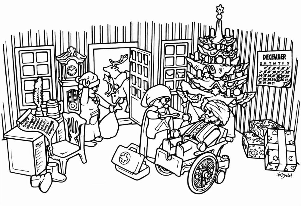 ausmalbild playmobil mandala