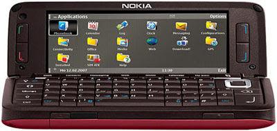 Nokia E90 Communicator - Open