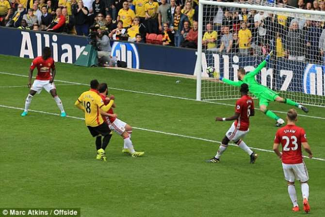 However, Juan Camilo Zuniga – on as a late substitute – sent the Hornets back in front with seven minutes left, and when the same player was fouled inside the area, Troy Deeney stepped up to convert the resultant penalty in the dying seconds.