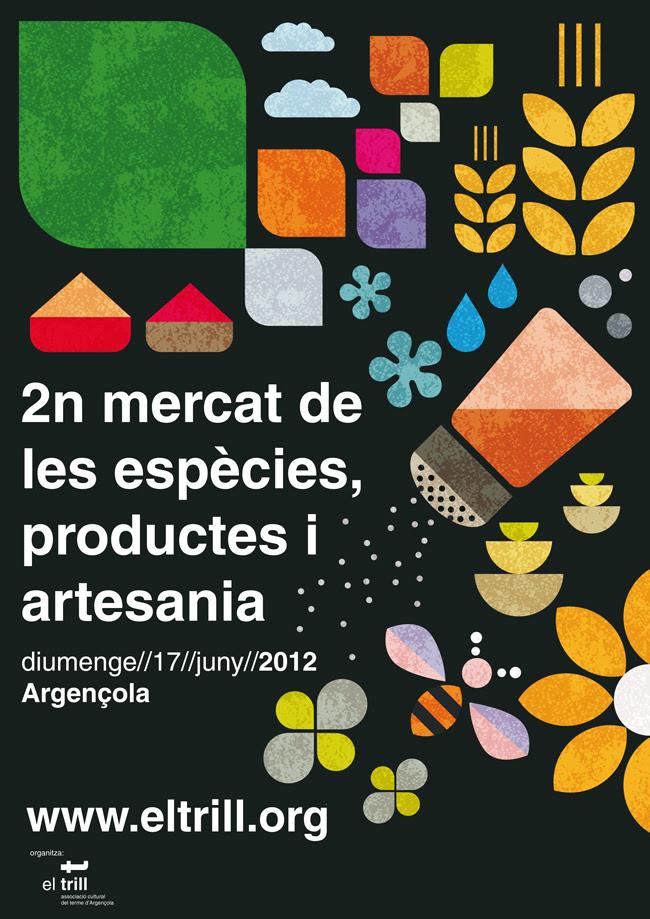 2n mercat de les espècies, productes i artesania d'Argençola