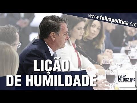 Bolsonaro dá lição de humildade para jornalistas ao relatar como teve primeiro emprego no jornal O Estado de S. Paulo