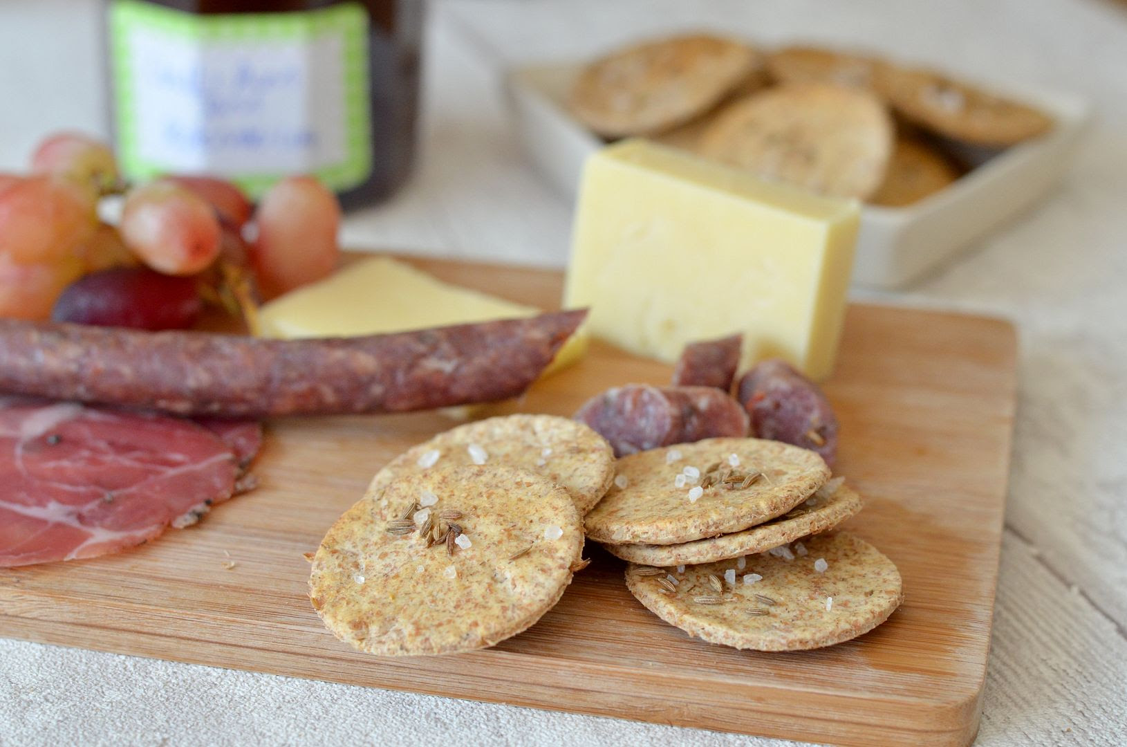 Cumin Seed Crackers, Chutney and Carnivore Club