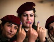 Donne Peshmerga (Afp)