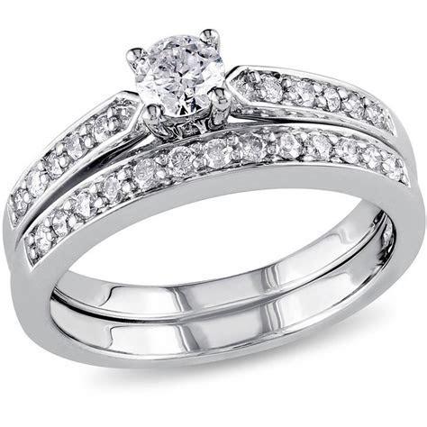 Miabella 1/2 Carat T.W. Diamond Sterling Silver Bridal