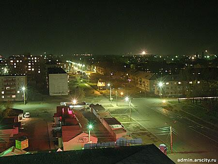 перекресток улиц Ломоносова и Островского, г.Арсеньев