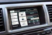 2012 Jaguar XF Supercharged multimedia display