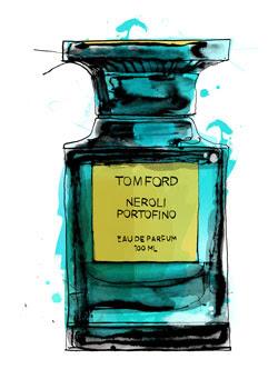 Tom Ford Parfum   Illustration: Patrick Morgan for BoF